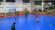 Benfica vence Leões de Porto Salvo em jogo de loucos