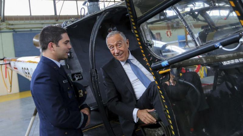 Presidente da República visita Base Aérea Nº 11 em Beja