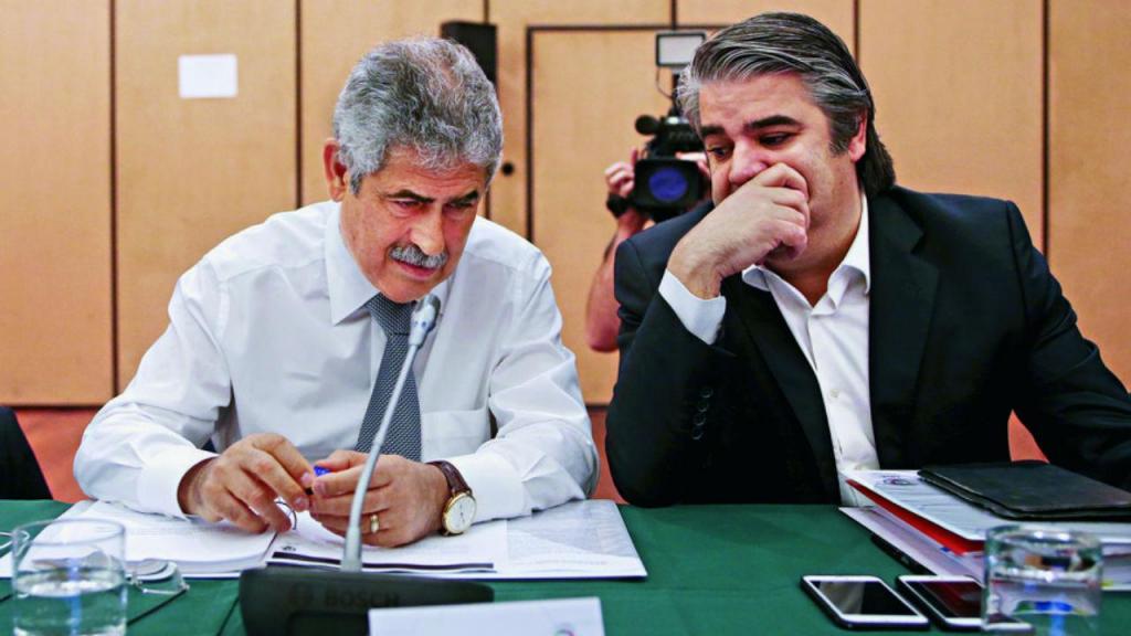 Luís Filipe Vieira e Paulo Gonçalves