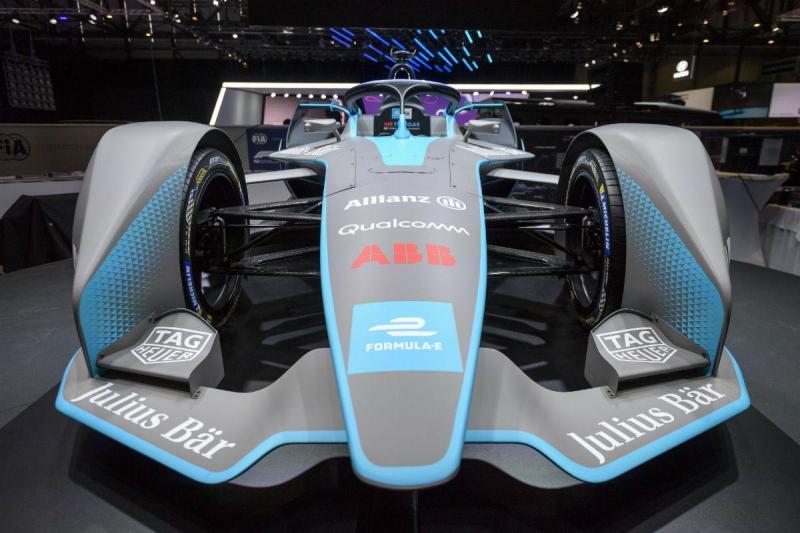 Salão de Genebra - Gen2 da Fórmula E 2019 (Lusa)