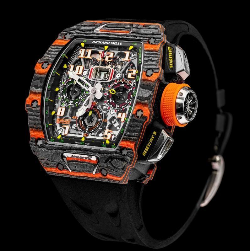 Relógio RM 11-03 McLaren Flyback Chronograph