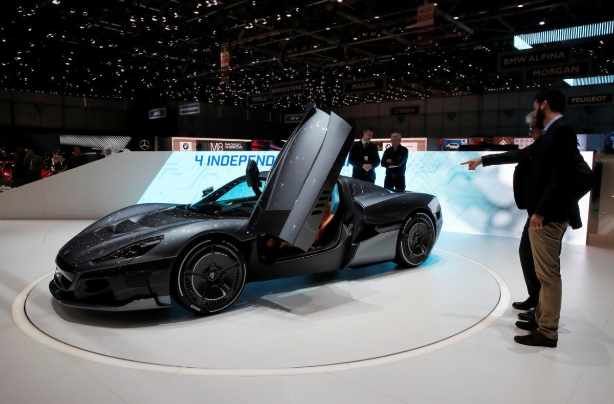 Salão de Genebra - Rimac Concept 2 (Reuters)