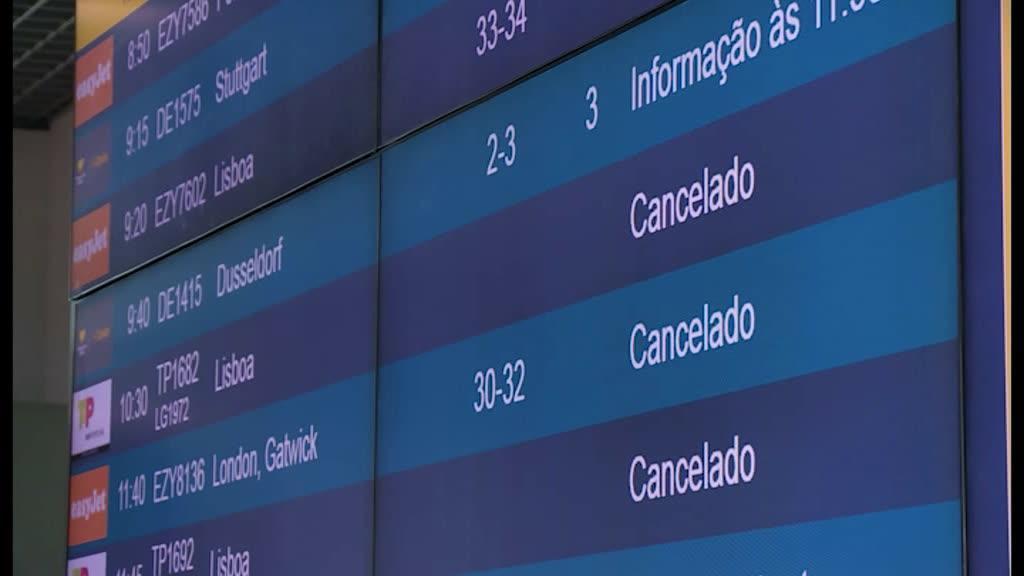 Vento não deixa aviões partir ou chegar na Madeira