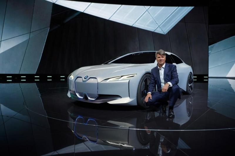 BMW i Vision Dynamics e Harald Krüger