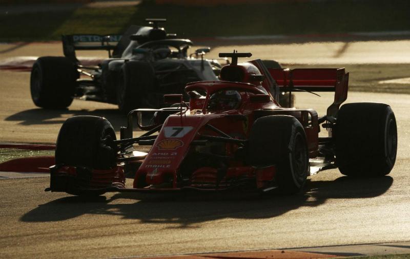 Kimi Raikkonen e Valtteri Bottas (Reuters)