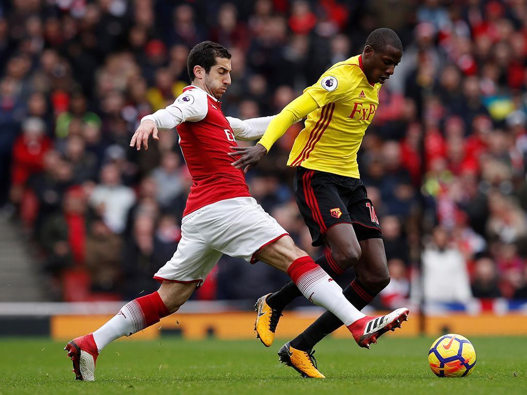 Arsenal-Watford (Reuters)