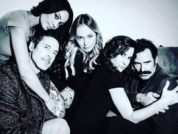 Sofia Baessa, Paulo Pires, Marisa Cruz, Sofia Aparício e Pedro Lima