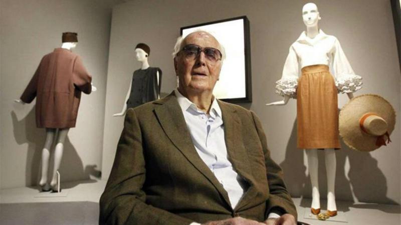 Morre o estilista francês Hubert Givenchy