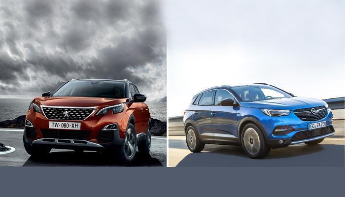 Peugeot 3008 e Opel GrandlandX