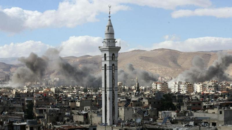 Síria: pessoas obrigadas a ir para abrigos subterrâneos