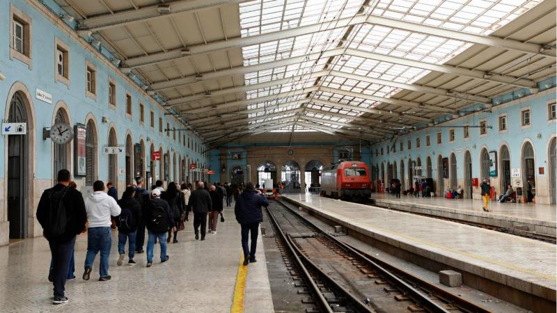 Comboios - greve