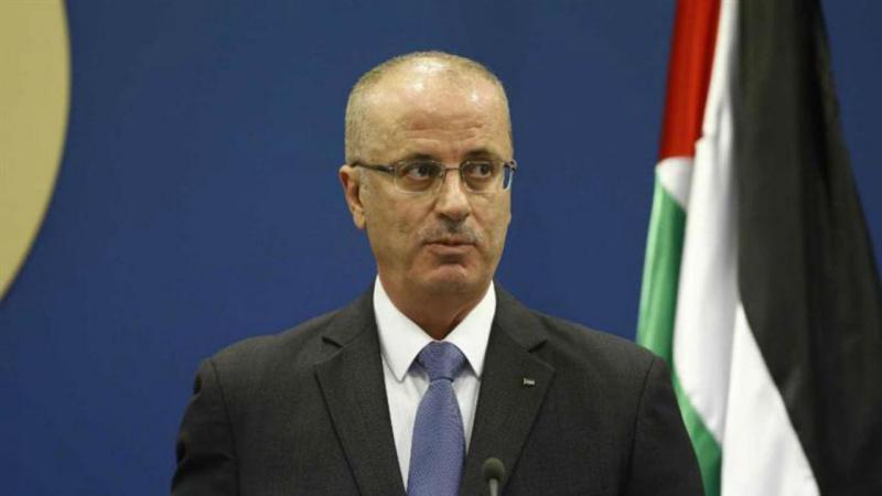 Primeiro-ministro palestiniano Rami Hamdallah