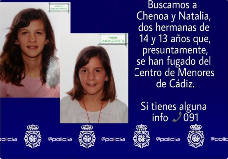 Raparigas procuradas pela polícia espanhola
