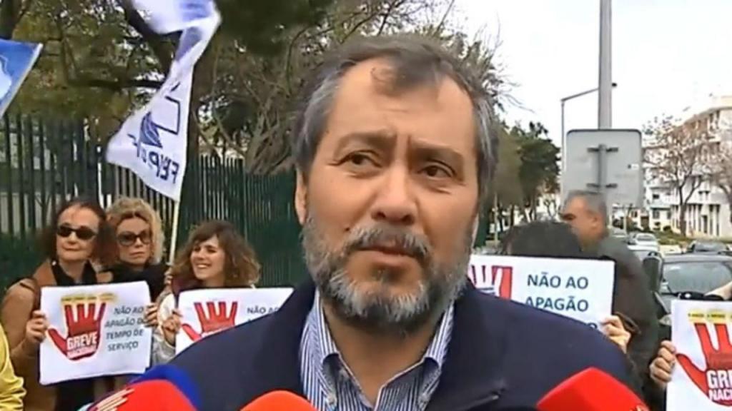Secretário-geral da Fenprof, Mário Nogueira