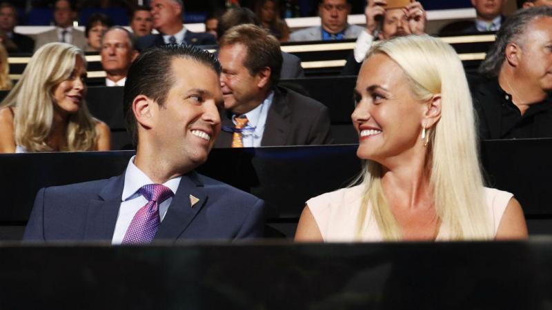 Donald Trump Jr. e Vanessa Trump