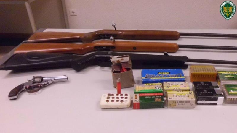 Apreensão de armas em Barcelos