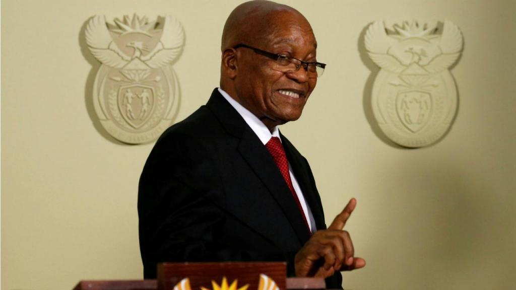 Jacob Zuma - ex-presidente da África do Sul