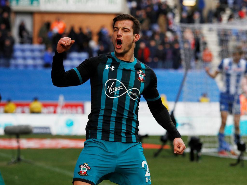 Wigan-Southampton (REUTERS/Phil Noble)