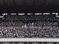 Benfica de Macau na Coreia do Norte