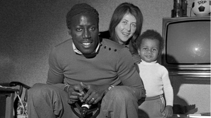 Jean-Pierre Adams, Bernardette e um dos filhos