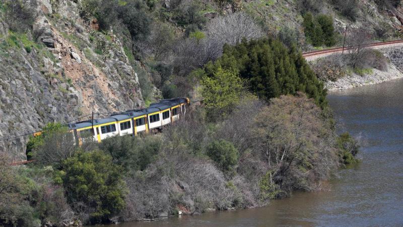 Descarrilamento na Linha do Douro