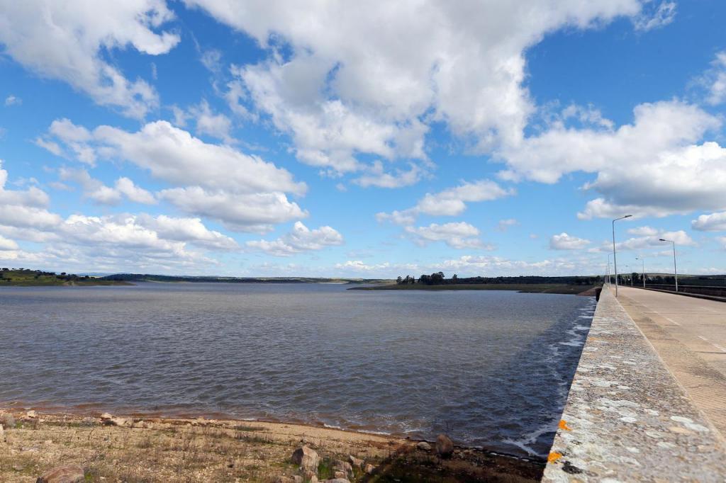 Barragem do Caia, em Elvas