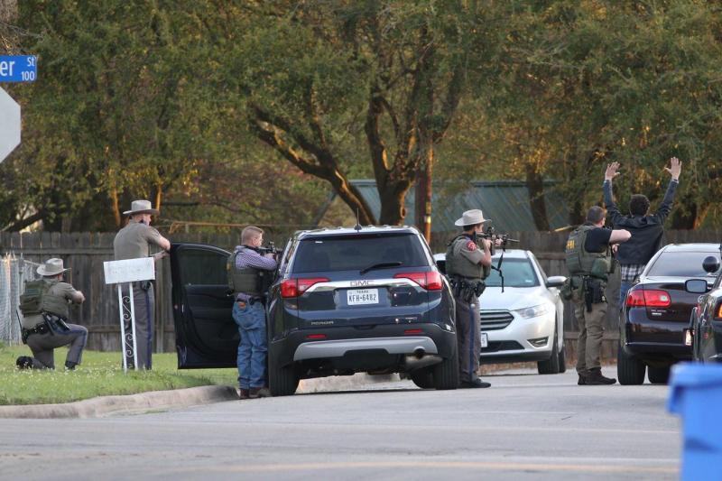 Investigação policial no Texas