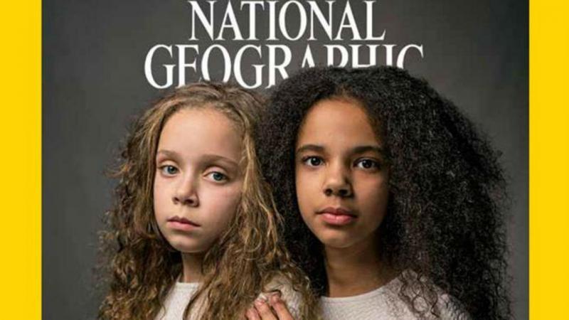 Capa da National Geographic de abril