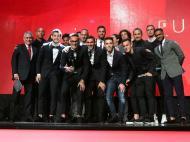 Jonas recebe prémio de Futebolista do Ano (foto: SL Benfica)