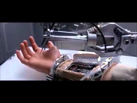 Prótese de mão do Star wars