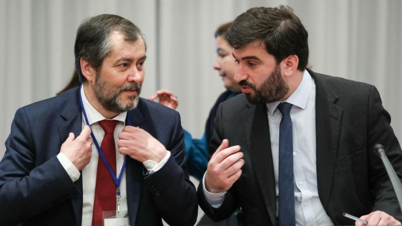 Mário Nogueira e Tiago Brandão Rodrigues