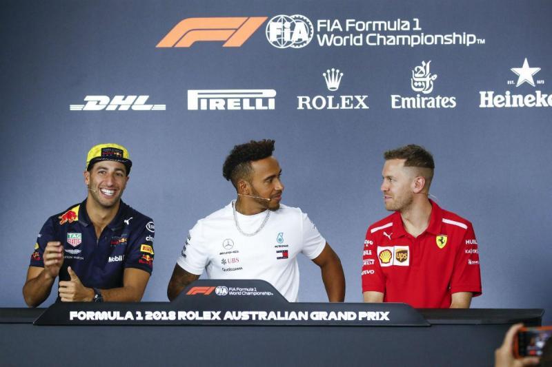 Conferência de lançamento do GP da Austrália (Lusa)