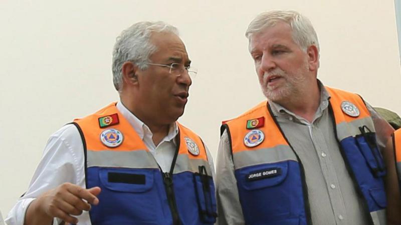 António Costa e Jorge Gomes