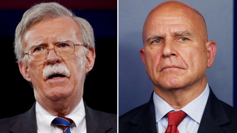 John Bolton e Herbert McMaster