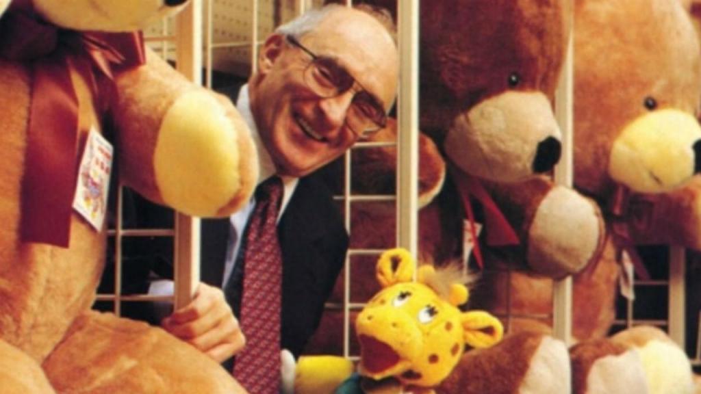 Charles Lazarus, fundador da Toys 'R' Us
