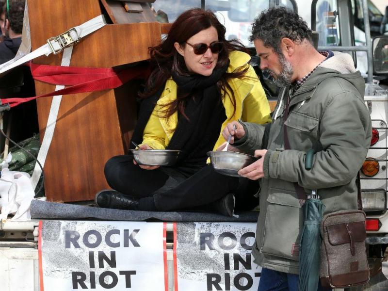 Lisboa: iniciativa Rock in Riot - Ocupar a Rua, Reclamar a Cidade
