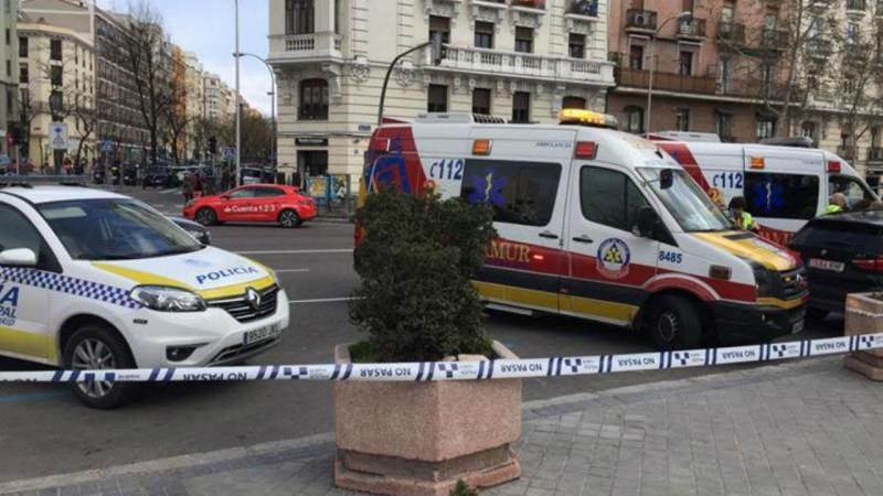 Entrada do parque El Retiro, em Madrid, em  que morreu o menino