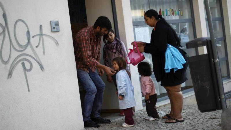 Escola em Lisboa - (arquivo)