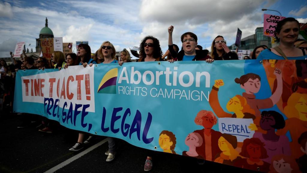Irlanda - manifestação pela liberalização do aborto