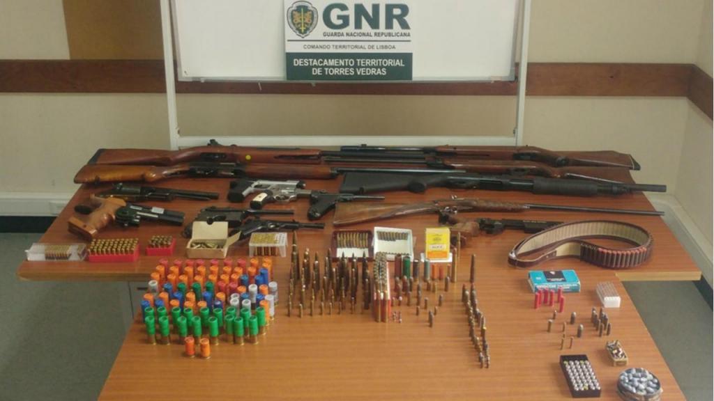 Apreensão de armas - GNR