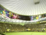 Novo estádio do Nantes (fotos: Nantes FC)