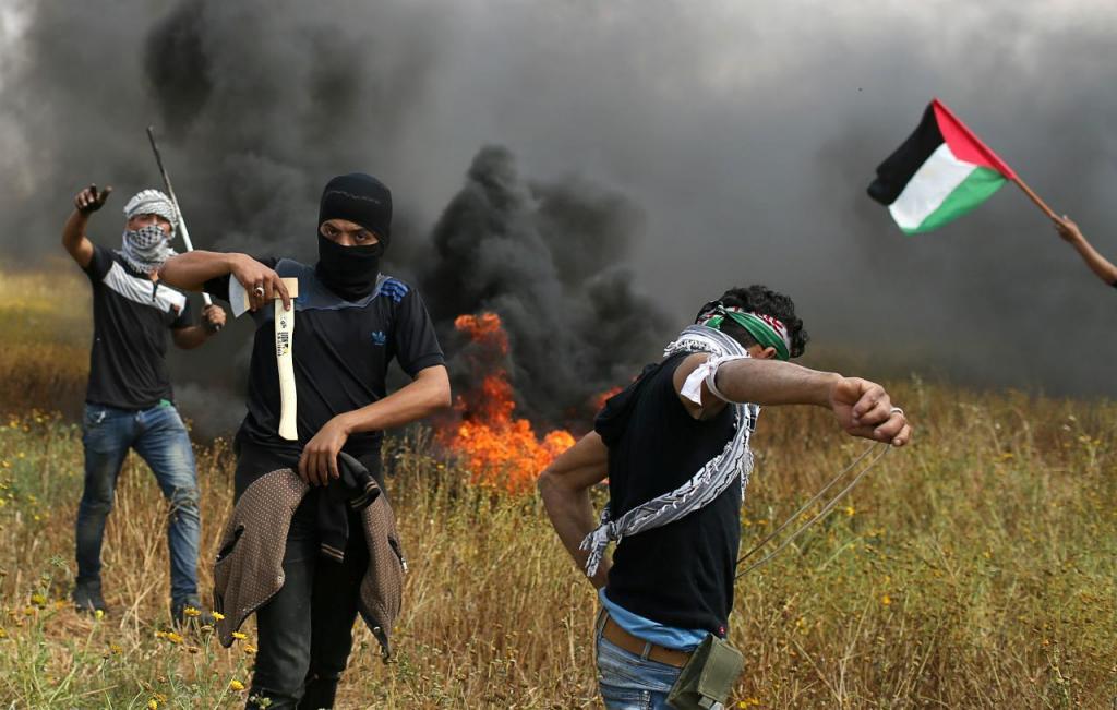 Protestos em Gaza (Palestina)