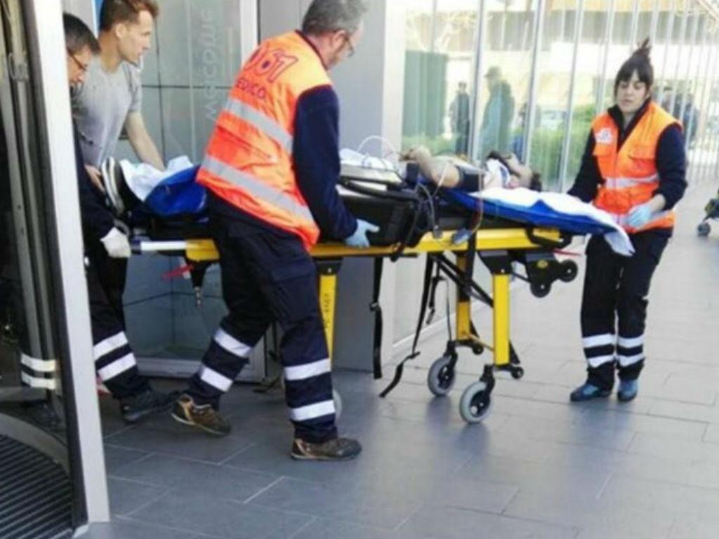 Pelayo Novo hospitalizado