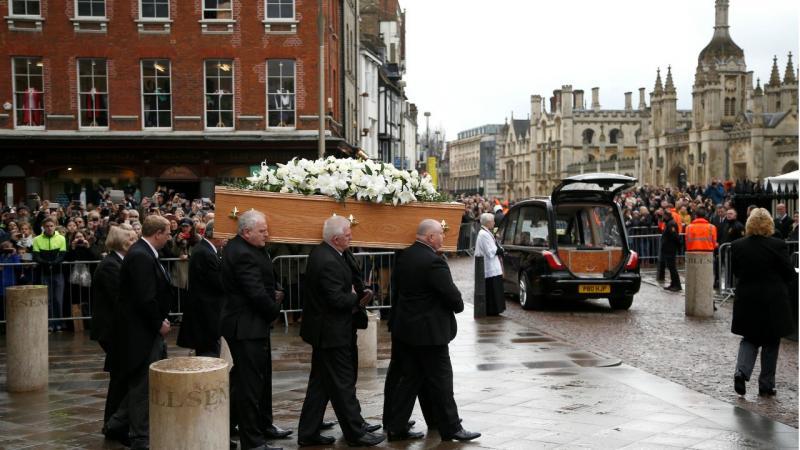 Funeral de Stephen Hawking - Cambridge