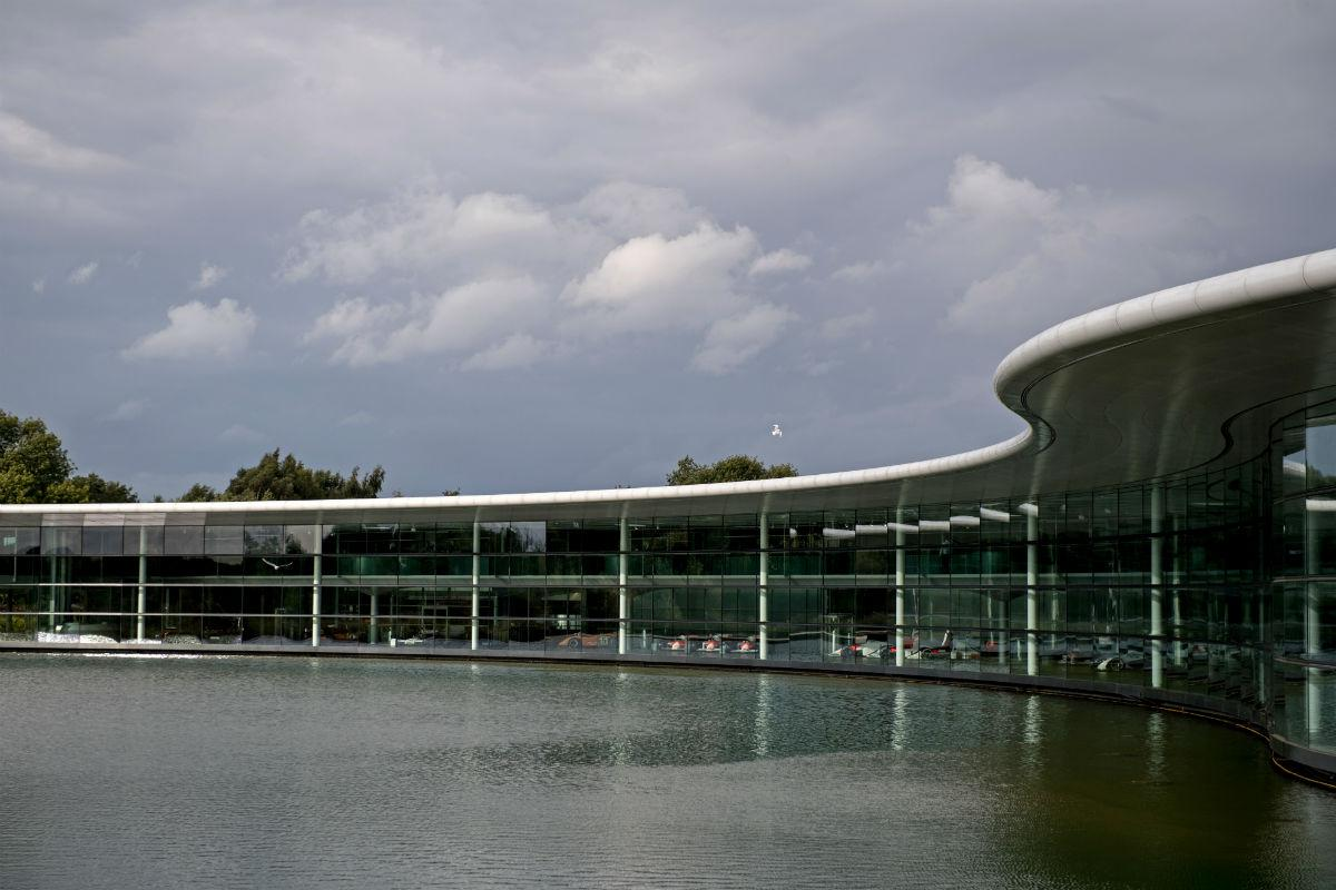 The McLaren Technology Centre (Reuters)