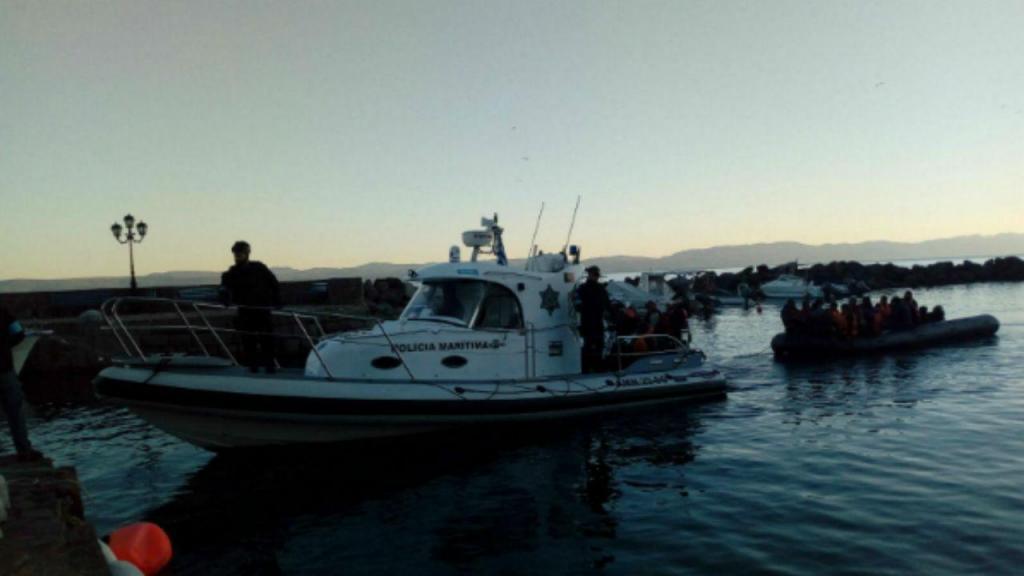 Polícia Marítima resgasta 29 migrantes