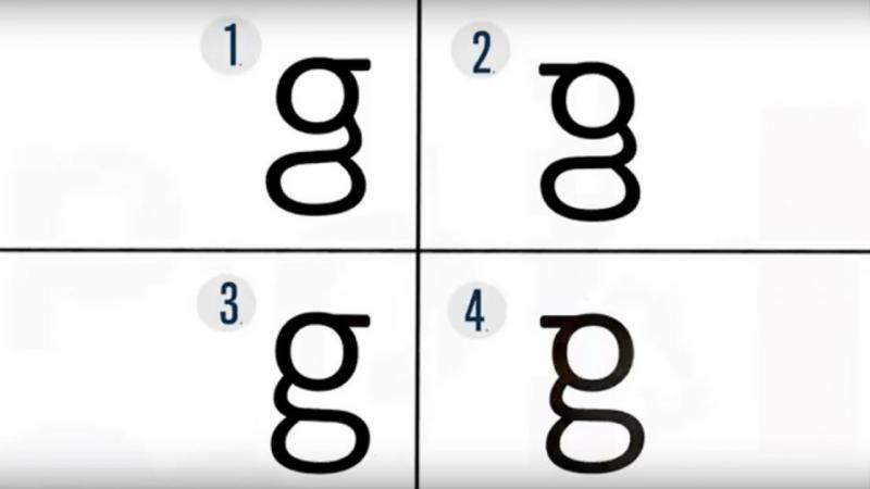 A letra do alfabeto que quase ninguém consegue escrever