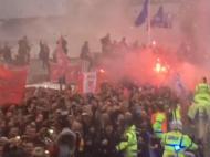 Ataque ao autocarro do Manchester City