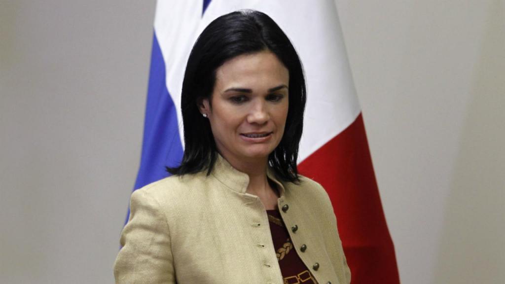 Ministra de Relações Exteriores panamiana, Isabel de Saint Malo
