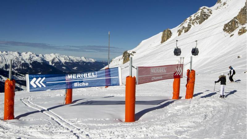 Resort Meribel, em França